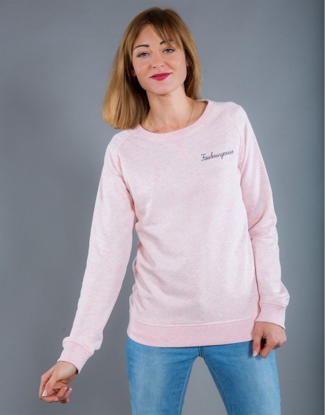 Sweat Femme Rose Faubourgeoise