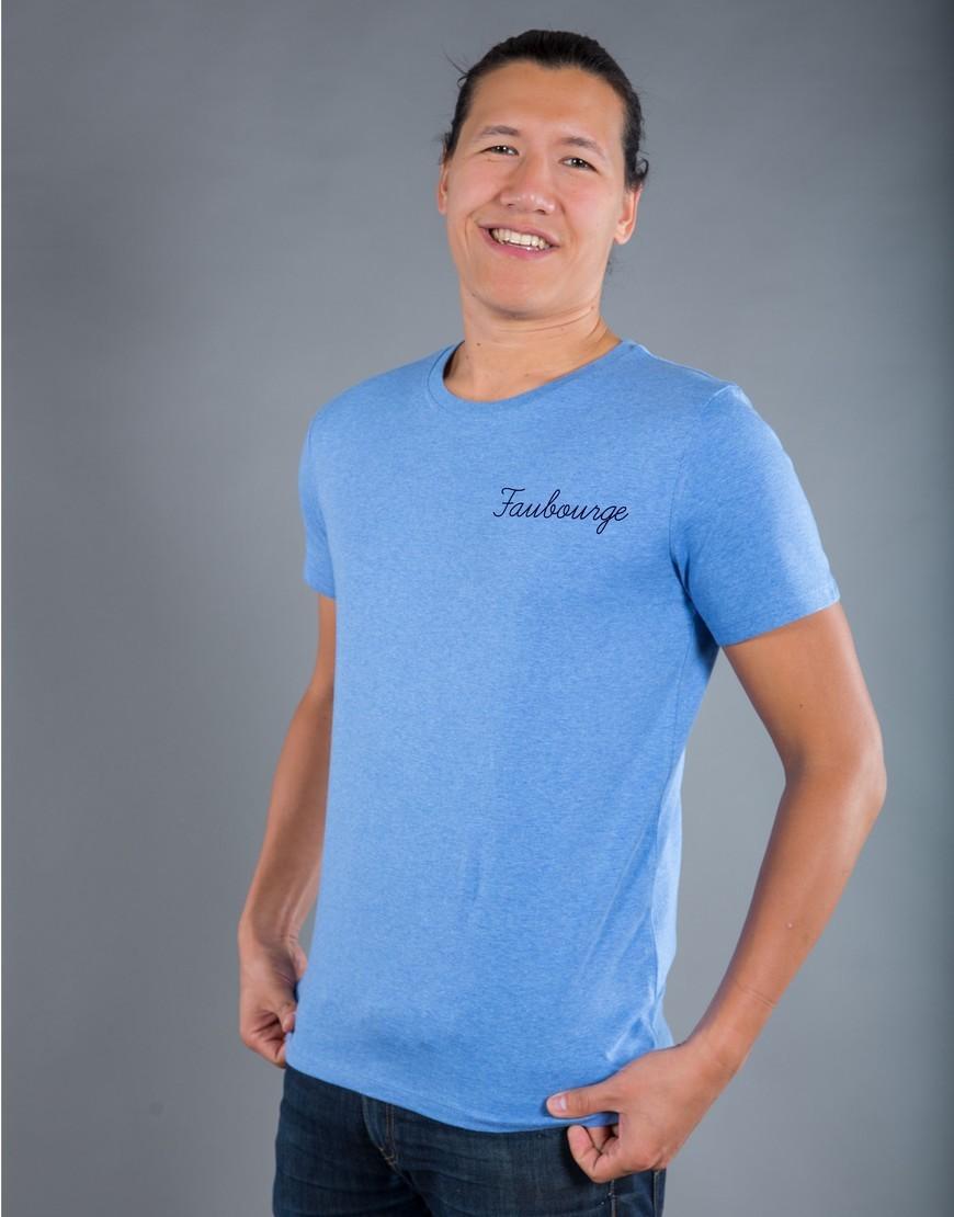 T-shirt Homme Bleu Faubourge