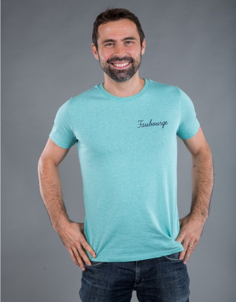 T-shirt Homme Vert Faubourge