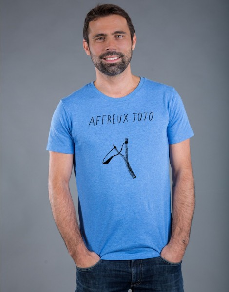 T-shirt Homme Bleu Affreux Jojo