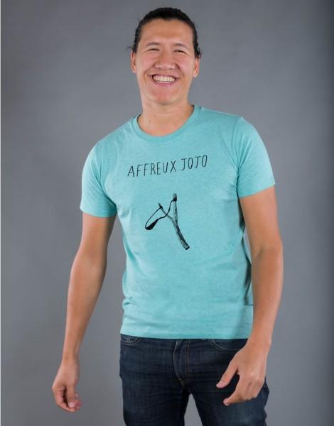 T-shirt Homme Vert Affreux Jojo