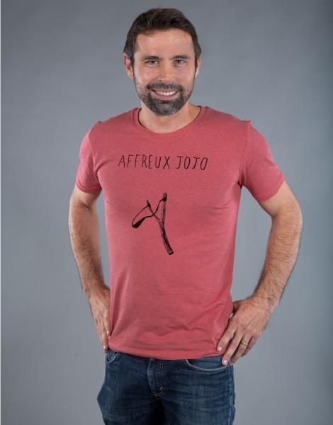 T-shirt Homme Rouge Affreux Jojo