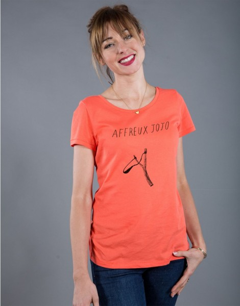 T-shirt Femme Corail Affreux Jojo