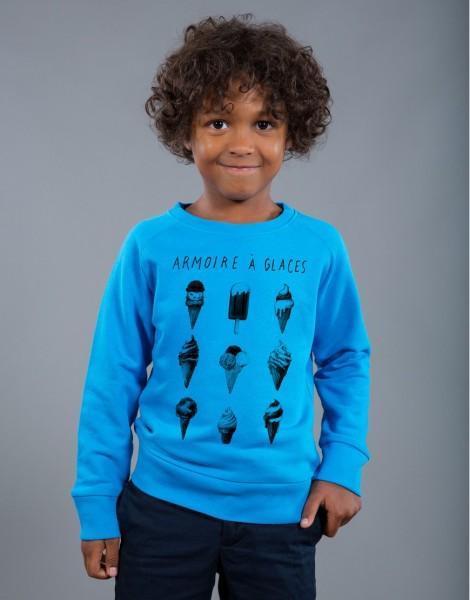 T-shirt Garçon Bleu Armoire à Glaces