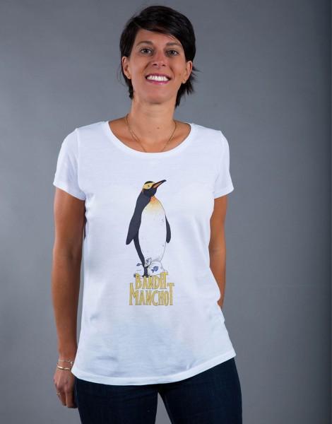 T-shirt Femme Blanc Bandit Manchot