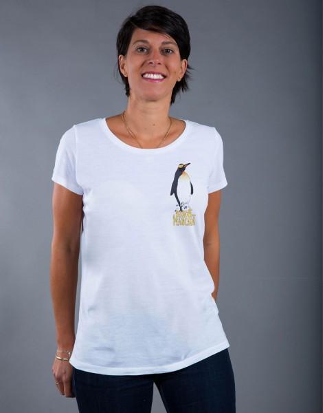 T-shirt Femme Blanc Bandit Manchot - Petit format