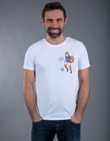 T-shirt Femme Blanc Renard des Surfaces